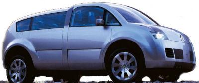 Le concept-car C-Crosser de Citroën, dévoilé en 2001, marquait une première tentative de Citroën dans le domaine des SUV grand public. Ce concept-car, réellement futuriste, valait plus par ses technologies embarquées que par son design (laid, franchement laid). En particulier, les commandes